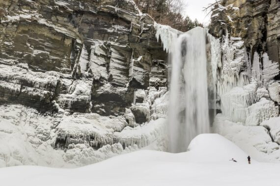 A Tale of Two Taughannock Winters