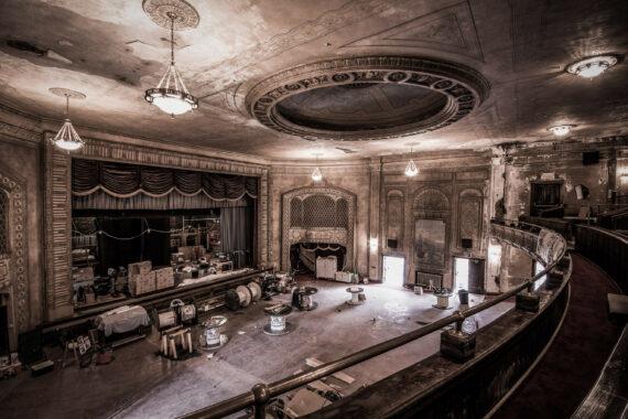 `Saved` ~ The Hollywood Theater ~ Gowanda, NY