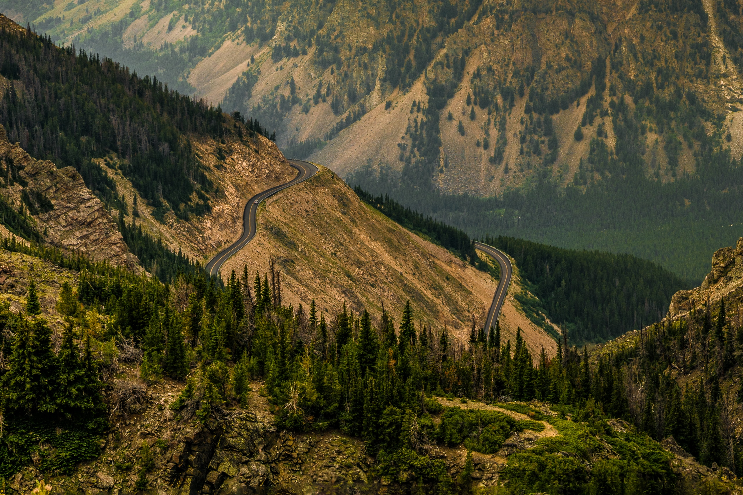 The Beartooth Highway in Wyoming/Montana