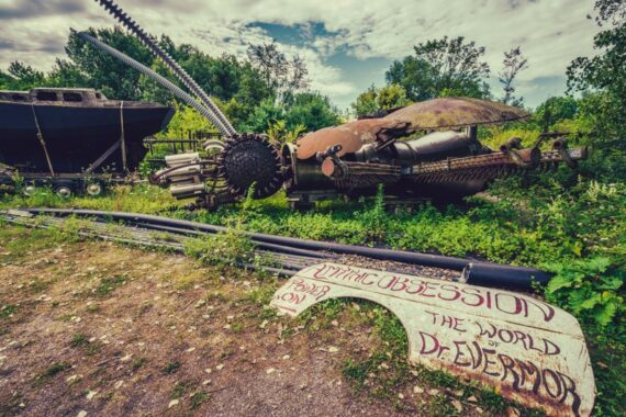 Dr. Evermor's Forevertron Sculpture Park, WI – Steampunk Power On